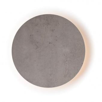 pvc аплик, cement shade, aca lighting, wall&ceiling luminaires, led 5w, 3000k, 400lm, zm1705ledwc