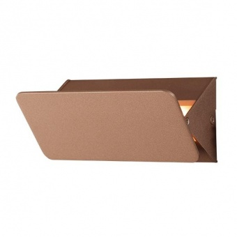 метален аплик, dark gold paint, aca lighting, wall&ceiling luminaires, led 5w, 3000k, 450lm, zd80645ledgd