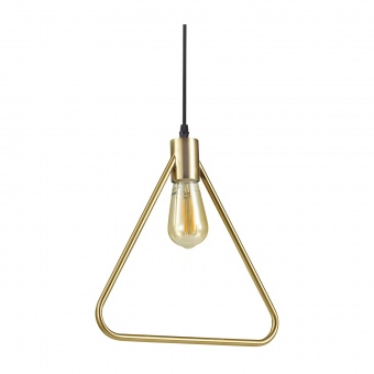 метален пендел, ottone, ideal lux, abc sp1 triandle, 1x70w, 207834