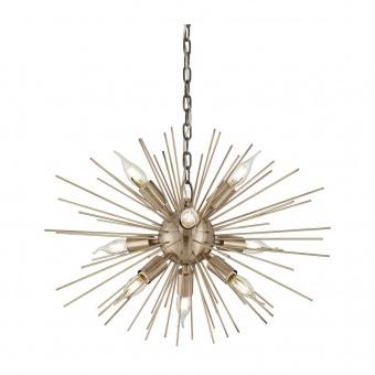метален полилей, ottone, ideal lux, kiss sp9, 9x40w, 201368