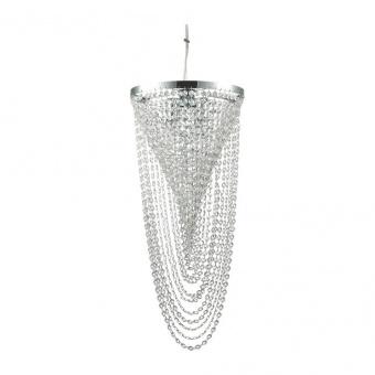 кристален полилей, cromo, ideal lux, pearl sp4, 4x40w, 211541