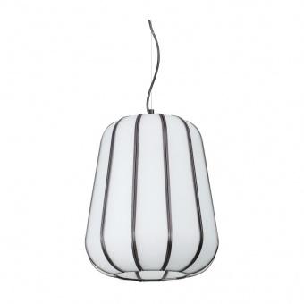 стъклен пендел, bianco, ideal lux, kyoto sp1 medium, 1x60w, 208282