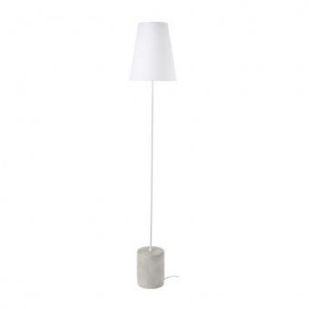 лампион от цимент, white, aca lighting, floor&table&office luminaires, 1x40w, tf8721fcw