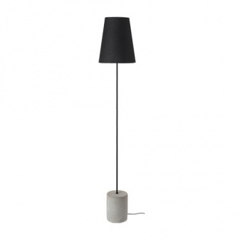 лампион от цимент, black, aca lighting, floor&table&office luminaires, 1x40w, tf8721fcb