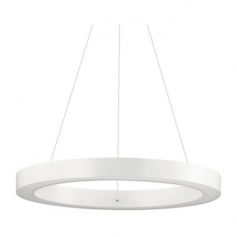 метален пендел, bianco, ideal lux, oracle sp1 d50, led 25w, 3000k, 2000lm, 211404