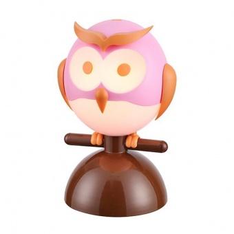 pvc настолна лампа, pink+orange+white+brown, aca lighting, bambini luminaires, 1x13w, zn160201tp