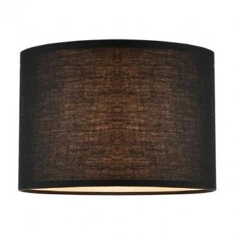 текстилен абажур, black, aca lighting, 1x40w, за фасунга е27, crl25b