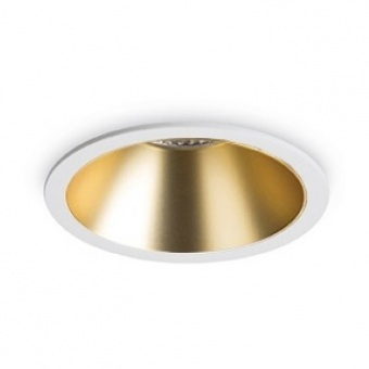 метална луна, oro, ideal lux, game round, led 12w, 3000k, 850lm, 192307