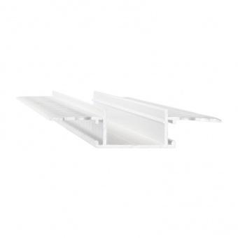 алуминиев профил за вграждане, white, 2m, ideal lux, stop recessed, 223728