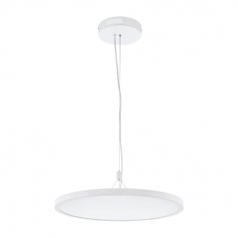 метален пендел, chrome, eglo, cerignola-c, led 32w, 2700-6500k, 3600lm, 98606