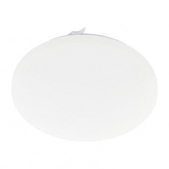 pvc плафон, white, eglo, frania-a, led 12w, 2700-6500k, 1050lm, 98235