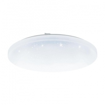 pvc плафон, white, eglo, frania-a, led 24w, 2700-6500k, 1800lm, 98236