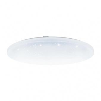 pvc плафон, white, eglo, frania-a, led 36w, 2700-6500k, 3300lm, 98237