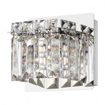 кристален аплик, chrome, eglo, fuetescusa, 1x3w, 3000k, 1x360lm, 98597