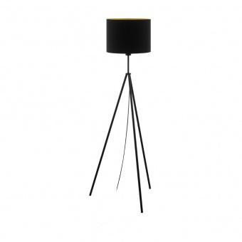 метален лампион, black, eglo, scigliati, 1x60w, 98391