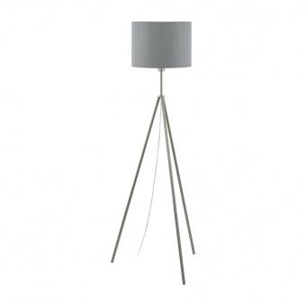 метален лампион, satin nickel, eglo, scigliati, 1x60w, 98392