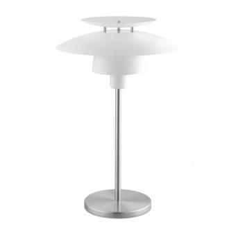 метална настолна лампа, white, eglo, brenda, 1x60w, 98109