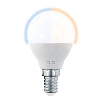 led лампа, 5w, e14, eglo, e14-led-p45, 2700-6500k, 400lm, 11804