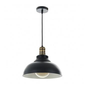 метален пендел, черен, elbulgaria, 1x40w, 2088 bk