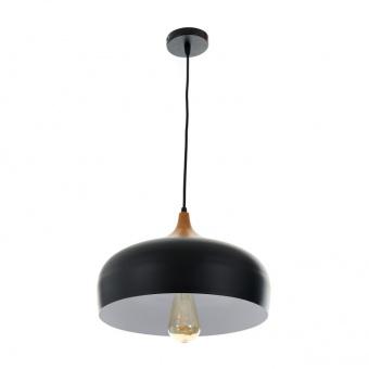 метален пендел, черен, elbulgaria, 1x40w, 2093