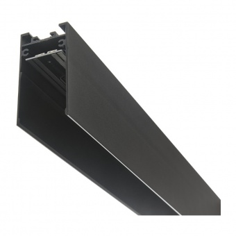 магнитна релса за външен монтаж, черна, elbulgaria, 1m, 2040 1m bk