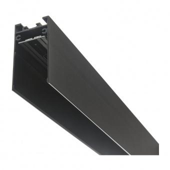 магнитна релса за външен монтаж, черна, elbulgaria, 2m, 2040 2m bk