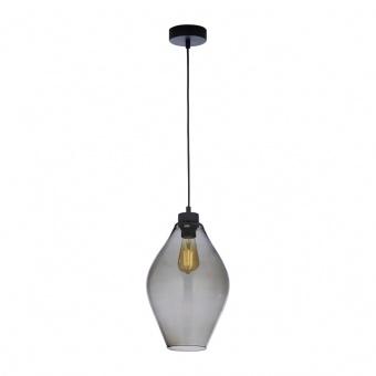 стъклен пендел, graphite/black, tk lighting, tulon, 1x40w, 4192