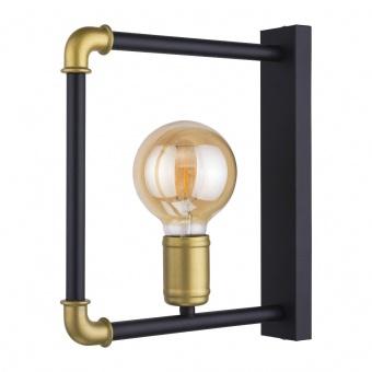 метален аплик, black, tk lighting, hydria, 1x40w, 4148