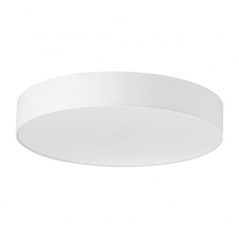 текстилен плафон, white/white, tk lighting, rondo, 6x40w, 2443