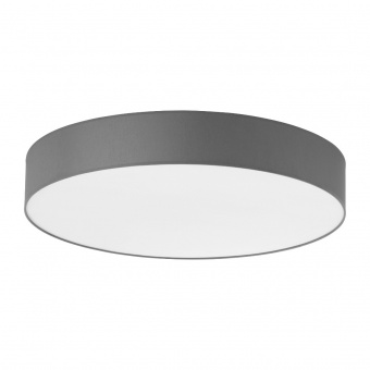 текстилен плафон, beton/white, tk lighting, rondo, 6x40w, 2725