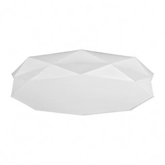 текстилен плафон, white/white, tk lighting, kantoor, 6x40w, 4225