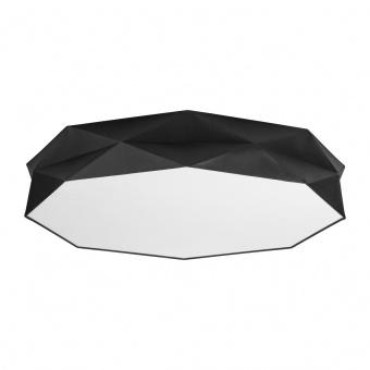 текстилен плафон, black/white, tk lighting, kantoor, 6x40w, 4227