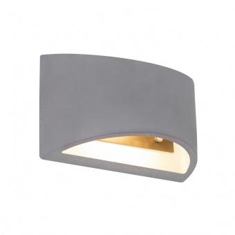 бетонен аплик, gray, globo, timo, 1x40w, 55011w6
