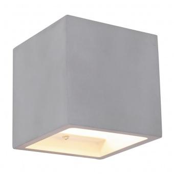 бетонен аплик, gray, globo, timo, 1x40w, 55011w4