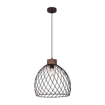 метален пендел, black, globo, isabelle, 1x60w, 54817h