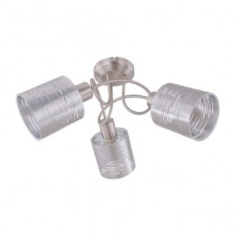 pvc спот, silver, globo, murcia, 3x15w, 15343-3d