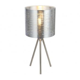 pvc настолна лампа, silver, globo, murcia, 1x25w, 15343t