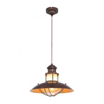 метален пендел, brown, globo, badalona, 1x60w, 15355h