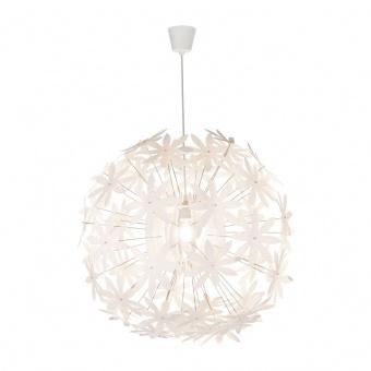 pvc пендел, white, globo, stella, 1x60w, 15024