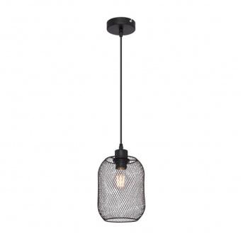 метален пендел, black, globo, anya, 1x60w, 15047h2