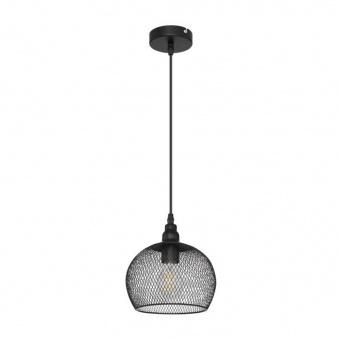 метален пендел, black, globo, anya, 1x60w, 15047h3