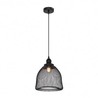 метален пендел, black, globo, anya, 1x60w, 15047h4