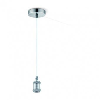 метален пендел, steel matt, globo, oliver, 1x40w, a30