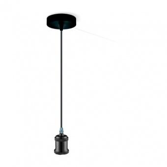 метален пендел, black, globo, oliver, 1x40w, a31