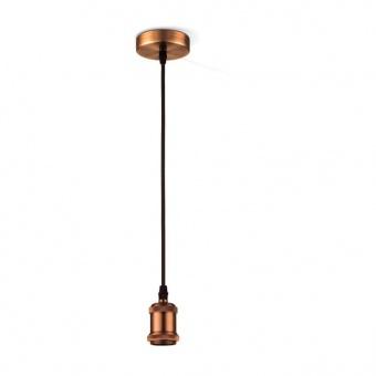 метален пендел, copper, globo, oliver, 1x40w, a32
