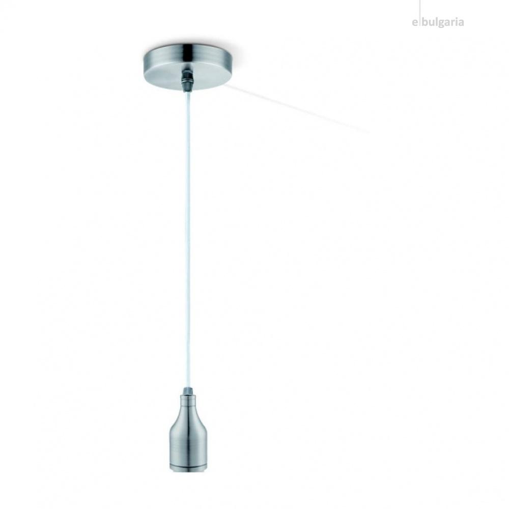 метален пендел, steel matt, globo, oliver, 1x40w, a34