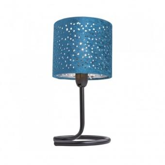 текстилна настолна лампа, mint, globo, norro, 1x40w, 24001bc