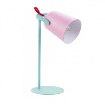 pvc работна лампа, pink, globo, tara, 1x25w, 24811p