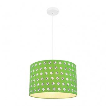 текстилен пендел, green, globo, lemmi, 1x60w, 54009h