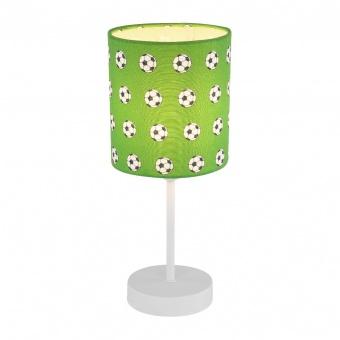 текстилна настолна лампа, green, globo, lemmi, 1x40w, 54009t